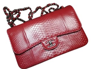 Chanel Limited Python Flap Shoulder Bag