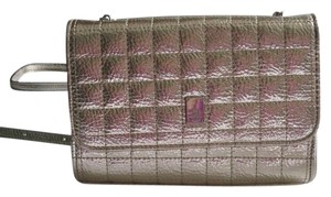 Jessica Simpson Metallic Clutch Cross Body Bag