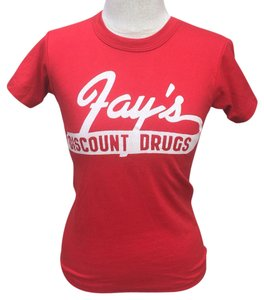 Russell Athletic T Shirt Red