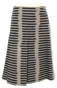 Akris Punto Skirt Grey and black striped
