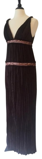 Preload https://img-static.tradesy.com/item/19062283/abs-by-allen-schwartz-chocolate-brown-and-rose-gold-long-formal-dress-size-12-l-0-1-650-650.jpg