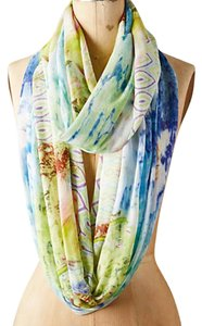 Anthropologie nwt Anthropologie Lotus Blossom Infinity Scarf