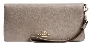 Coach COACH Slim Wallet in Colorblock Leat Fog