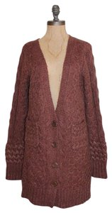 Anthropologie Knit Wool Mohair Sleeping Cardigan