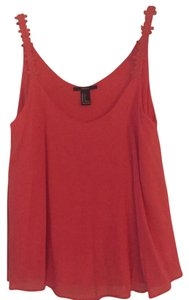 Forever 21 Top Red Cami