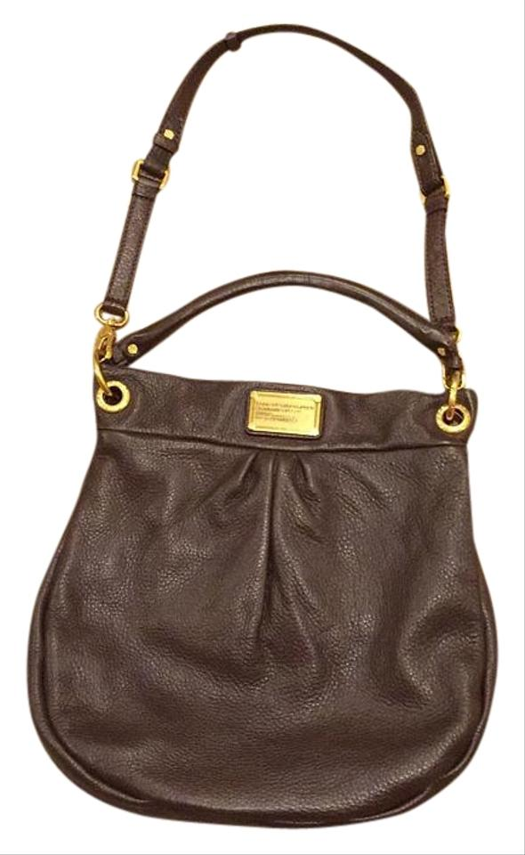 1a06b4d61c39c Marc by Marc Jacobs Hillier Brown Leather Hobo Bag - Tradesy