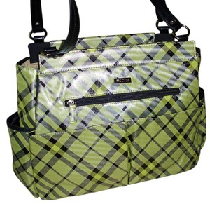 MICHE Magnetic Interchangeable green Diaper Bag