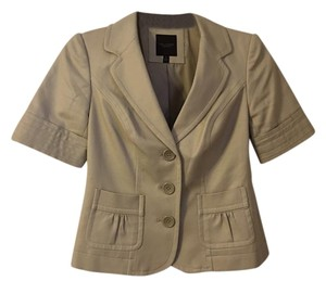 The Limited Premium Spring Classic Khaki Jacket