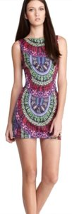 Mara Hoffman short dress Navy, multi on Tradesy