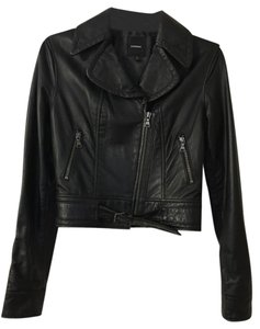 Express Genuine Leather Leather Jacket