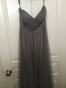 3ec085f62f1 Jenny Yoo Sterling Grey Tulle Annabelle Formal Bridesmaid Mob Dress Size 4  (S)