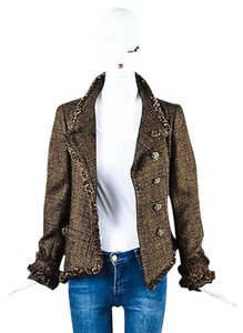 Chanel 09a Metallic Brown Jacket