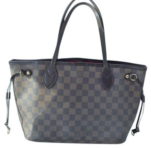 641a96134677 Louis Vuitton Neverfull Pm Damier Ebene Coated Canvas Tote - Tradesy