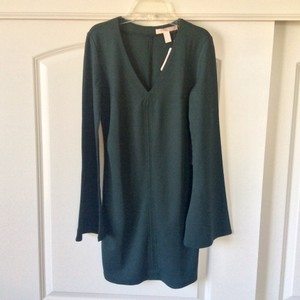 Forever 21 short dress Deep forrest green on Tradesy
