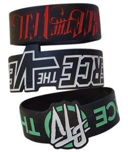 Hot Topic 3 Pierce The Veil Rubber band bracelet