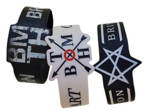Hot Topic 3 Bring me the Horizon band bracelets