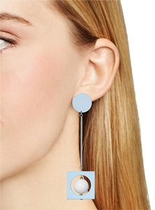 Aqua AQUA Anitra Mod Drop Earrings Blue