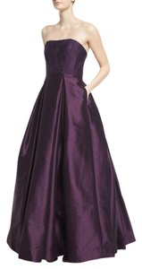 Monique Lhuillier Ball Gown Formal Evening Lace Dress