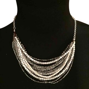Anthropologie Mult-layered Beaded Necklace