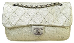 Chanel Metallic Single Flap Shoulder Bag