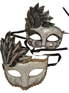 2 Venetion masquerade inspired Mask, New
