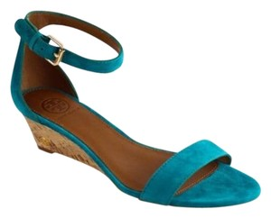 Tory Burch Savannah 45mm Soho Blue Sandals