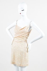 Missoni short dress Multi-Color Pale Pink Lavender on Tradesy