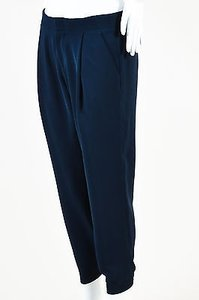 Vince Navy Pleated Jogger Pants