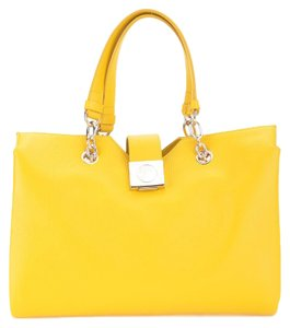 Versace Collection Tote in Yellow