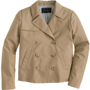 J.Crew Trench Cotton Jacket Trench Coat