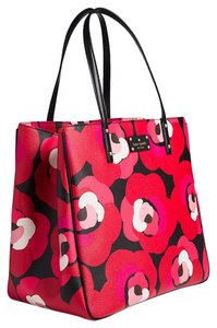 Kate Spade Satchel Tote in deco rose orient red