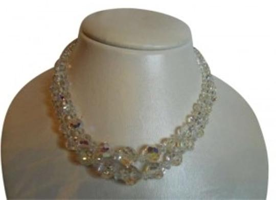 Preload https://img-static.tradesy.com/item/190774/vintage-double-strand-ab-crystal-necklace-0-0-540-540.jpg