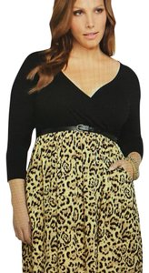 Torrid short dress Animal print Plus-size Pockets on Tradesy
