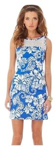 Lilly Pulitzer short dress Blue and White on Tradesy