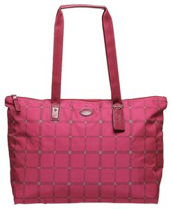 Coach Weekender Pink Raspberry Travel Bag