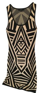 Forever 21 short dress Black and Tan Party on Tradesy