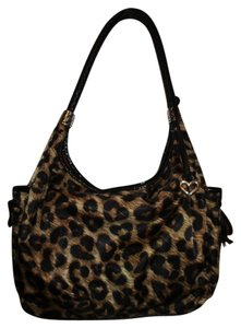 Brighton Leather Croc Hobo Bag