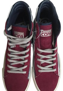 Converse Black/Burgundy Athletic