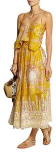 Yellow Maxi Dress by ZIMMERMANN Iro Isabel Marant Self-portrait Dvf Tory Burch
