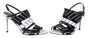 Sergio Rossi Black/White Sandals