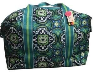 ALL FOR COLOR GREEN BLUE Travel Bag