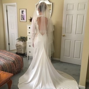 Beautiful Back Berta Inspired Wedding Dress