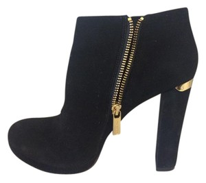 MICHAEL Michael Kors Haven Bootie Suede Black Boots