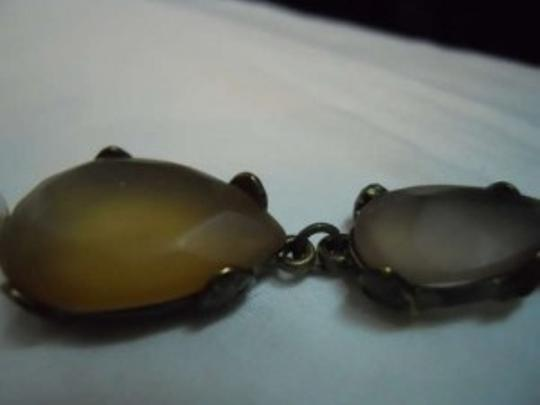 Coldwater Creek Coldwater Creek faux pearl & stone necklace
