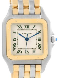 Cartier Cartier Panthere Large Steel 18K Yellow Gold Date Watch W25028B6
