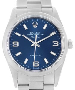 Rolex Rolex Air King Oyster Perpetual Blue Dial Automatic Mens Watch 14000