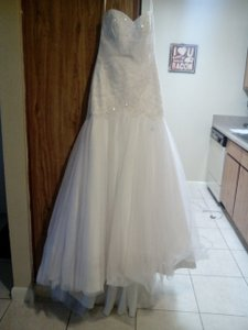 David's Bridal Mermaid Wedding Dress