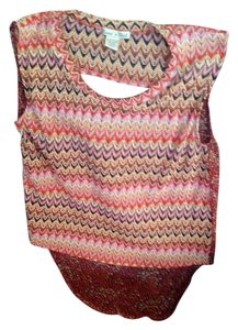 Rachael & Chloe Top Multi Color