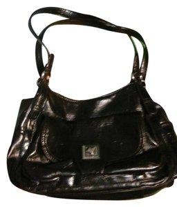 Dana Buchman Leather Shoulder Bag