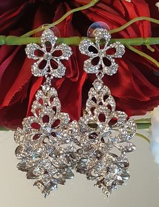 Austrian Crystal Bridal Earrings